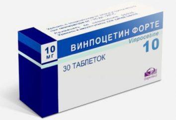 """""""Vinpocetine Forte"""": instrukcje użycia, opis leku, informacje zwrotne"""