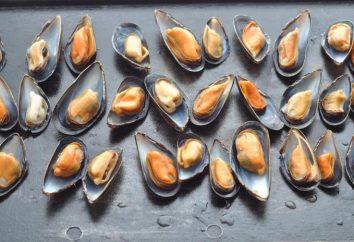 Les moules de cuisson: délicieuse recette de fruits de mer