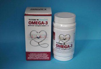 """Vitamine Omega-3 Vitrum Cardio """": Gebrauchsanweisungen, Zusammensetzung und Bewertungen"""