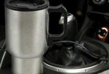 Thermomug voiture allume-cigare chauffée vous aidera à garder au chaud dans le gel d'hiver