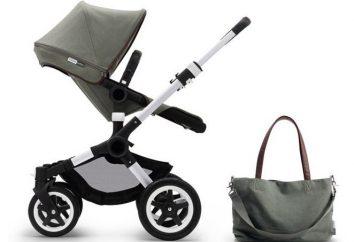 """Cadeira de rodas """"Bugaboos Buffalo"""": descrição, características, modelos e comentários dos proprietários"""