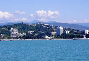 Sochi – bewertete Hotels: Unterkunft und Dienstleistungen