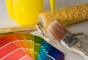 pintura decorativa de las paredes: la elección de la pintura, la preparación de paredes, herramientas