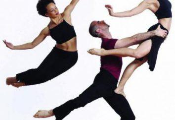 Akrobatyczny taniec – połączenie kontrastów