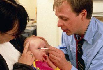 Dlaczego jątrzyć oczami dziecka? Niż w leczeniu stanów zapalnych?