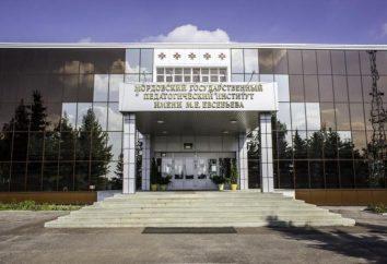 Instituto Pedagógico Estatal de Moscú. Evseveva. VPO Instituto Pedagógico Estatal de Mordovia