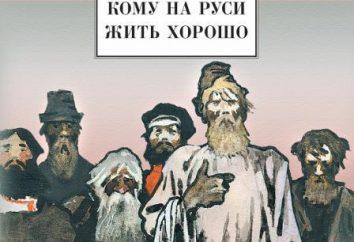 Poème N. A. Nekrasova « Qui vit bien en Russie »: les images, la caractérisation, un bref récit. Pour bien vivre en Russie?