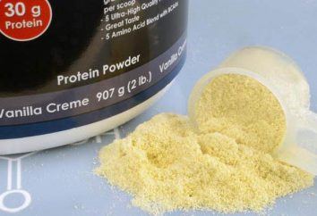 Whey Protein Concentrate, poder concedente