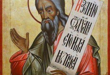 Joel (profeta): vita, profezia, interpretazione. Preghiera e Akathist al profeta Joel