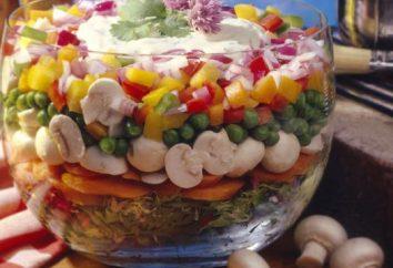 """Ensalada con las setas """"cesta de la estopa"""" y otras recetas populares"""