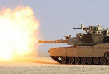 Réservoir américain Abrams M1A2: TTX, armement