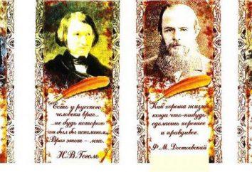 Littérature au 19ème siècle en Russie, les représentants des directions littéraires