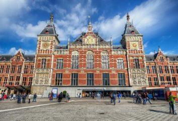 Gare Centrale d'Amsterdam: adresse, les photos