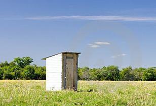 Sommer-WC: Größe und Design