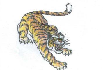 """Tatuaż """"Tiger"""" (uśmiech): Wartość"""