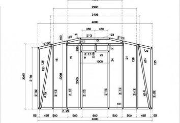 Montagem de estrutura de metal policarbonato -User. Esquema de instalação de policarbonato estufas armação de metal com suas mãos