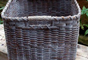 Fazendo cestas de jornais – um hobby gratificante