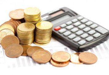 La taxe sur les dépôts des particuliers: la procédure de calcul des pourcentages
