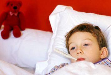 Zespół hipertermii u dzieci. Pomoc z zespołem hipertermalnych
