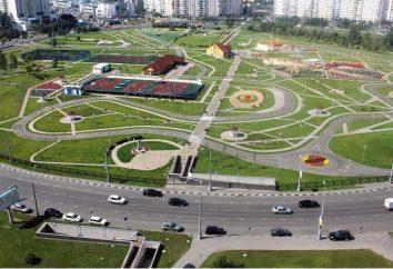Artema Borovika Parco a Mosca invita a fare una passeggiata!