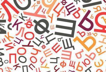 Non derivati e derivati parole: esempi