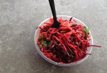 Salade de vitamine. Cuisiner à la rapide maison et savoureux.
