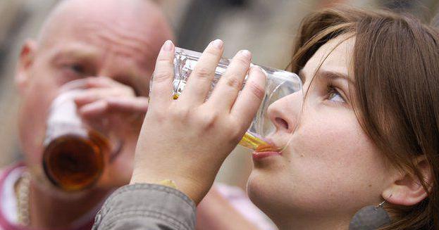 alkohol przy karmieniu piersią