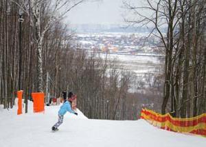 Chulkovo – estância de esqui perto de Moscou. Fotos e comentários