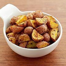 Geröstete neue Kartoffeln im Ofen: hervorragende Rezepte