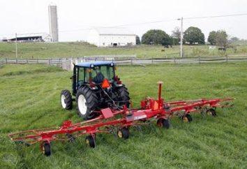 Tedder: designazione e caratteristiche tecniche di macchine per l'agricoltura