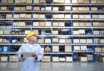 Rationelle Verteilung der Waren im Lager: die Regeln und Methoden
