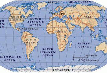 Les courants de l'océan Arctique. Les eaux de l'océan Arctique. courants d'entraînement