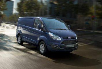 Ford Transit Custom: descrição, especificações e comentários