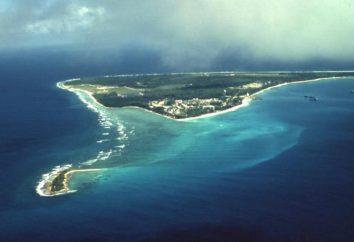 El archipiélago de Chagos, la isla de Diego Garcia. Descripción, fotos