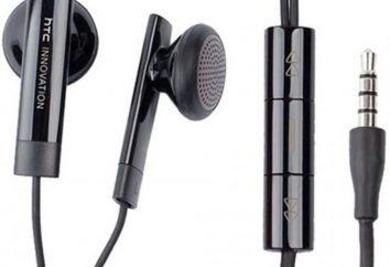 HTC (auscultadores): visão geral, tipos, características e comentários dos proprietários