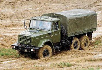 4334 ZIL – niezawodny pojazdów o średniej wielkości obrotu koła o wzorze 6 x 6