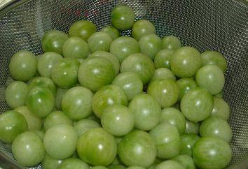 Jak marynowane zielone pomidory w rondlu Szybkie receptury
