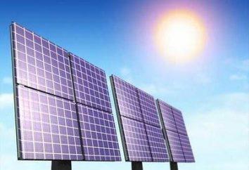 Plantas de energía solar. El principio de funcionamiento y perspectivas
