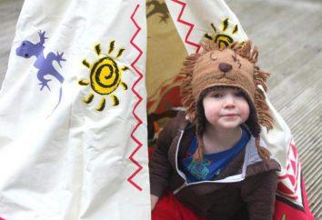 Tepees para crianças – um espaço privado para o desenvolvimento harmonioso