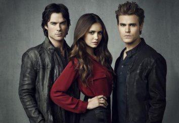 """Związanych z serii na """"Vampire Diaries"""". Lista najlepszych nazwisk, opinie"""