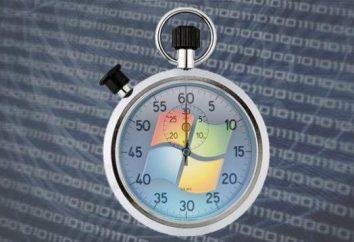 Muito tempo para inicializar o Windows 7. O Windows 7 Startup