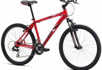Fahrräder Mongoose: Berg für Anfänger und Sport für Frauen