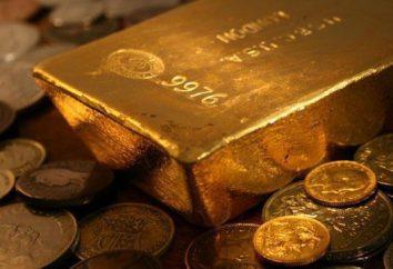 Was ist die beste Probe von Gold, seinen Typen und Eigenschaften