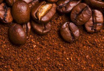 Kawa mielona i instant: znaczki. Producenci kawy, znane marki. Ziarna kawy
