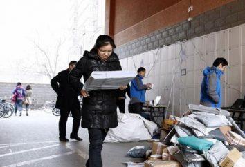 Wie kommt Paket aus China? Frage nicht im Leerlauf