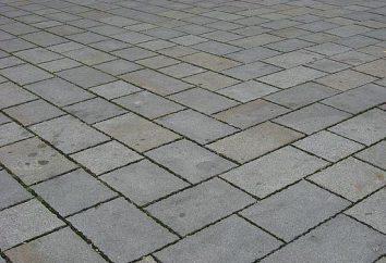 Tipos populares de lajes de pavimentação