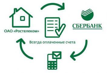 """Sberbank, """"Avtoplatezh para utilitários de serviços públicos"""": descrição, conexão e feedback"""