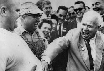 La visita de Kruschev a los EE.UU. en 1959. Los hechos históricos