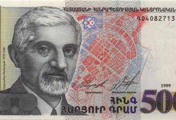 Dinheiro Arménia descrição e interessantes fatos