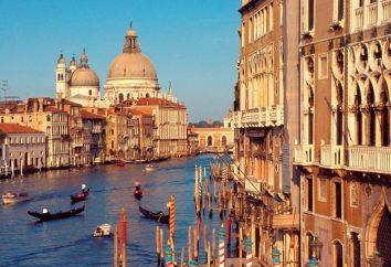 Veneza é uma bela cidade na água